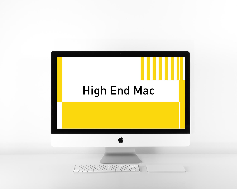 High End Mac 1 & 2